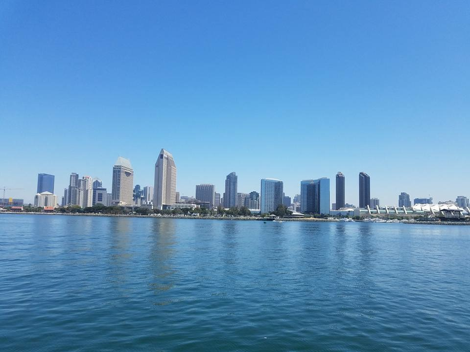 Beautiful View of Downtown from the Bay