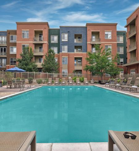 Camden Belleview Station Apartments Denver Colorado