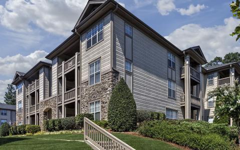 Camden Overlook Apartments in Raleigh, North Carolina