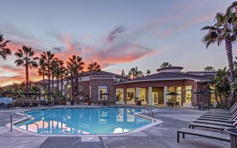 Camden Sierra at Otay Ranch apartments in Chula Vista, California.