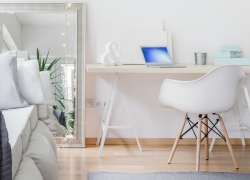 Using mirrors to make a small space feel larger