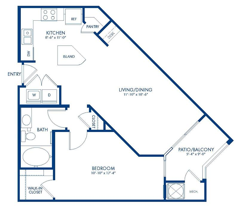 1 Amp 2 Bedroom Apartments In College Park Md Camden