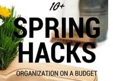 10+ Spring Hacks on a Budget